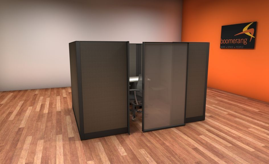 Used Knoll Morrison 6×6 and 6×8 Cubicles | Used Cubicles