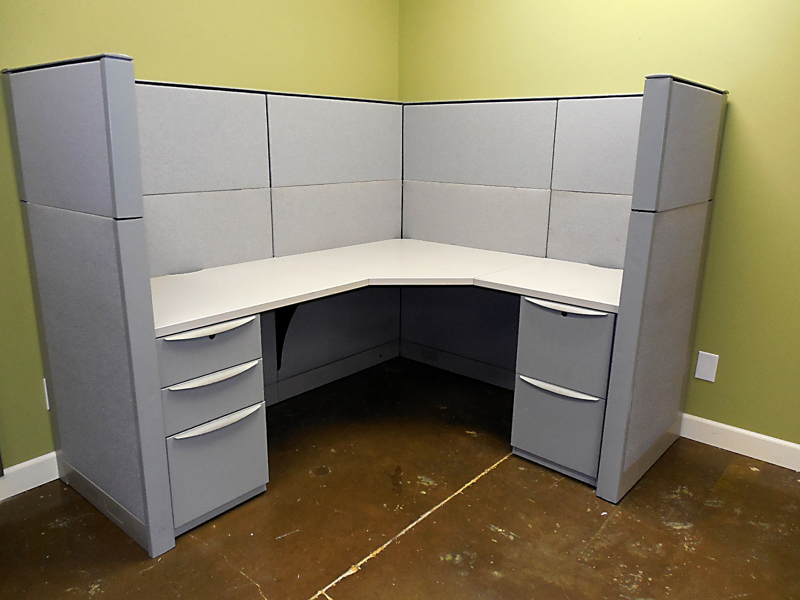 Used Haworth Premise Cubicles 6x5 Used Cubicles