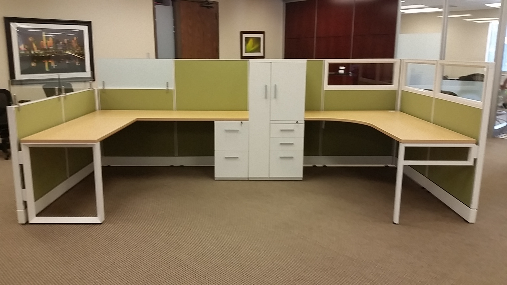 Installation Photos Used Cubicles