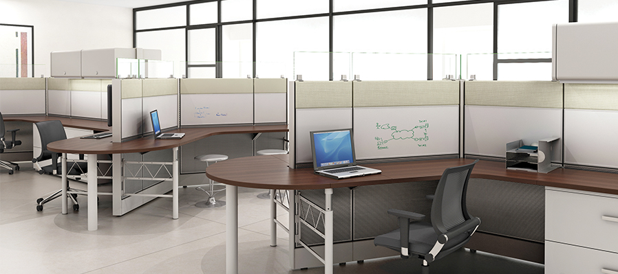 Tiled Cubicles 4