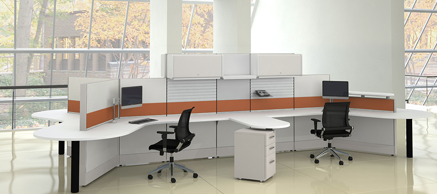 Tiled Cubicles 6