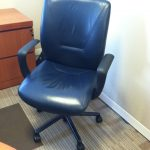 Used Knoll Reff Desk Sets with Leather Executive chair and Side Chair Included 750.00 Philadelphia Pennsylvania