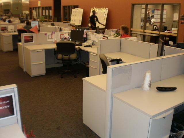 Used Haworth Premise 6×6 workstations