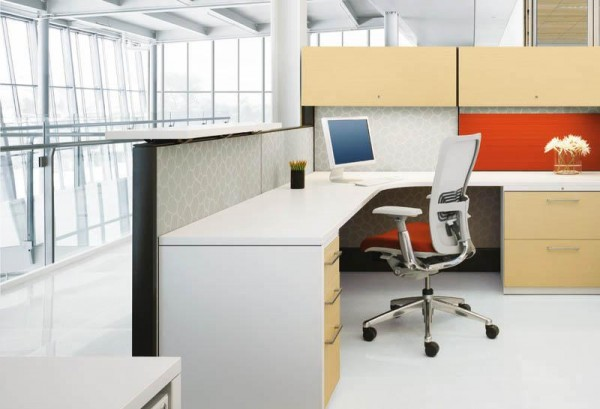 Used Haworth Premise Cubicles: For the Office of the Future