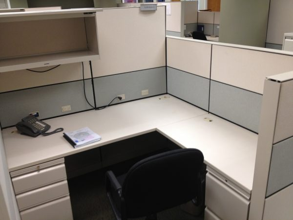 Used Allsteel Terrace 6×6 and 8×6 cubicles
