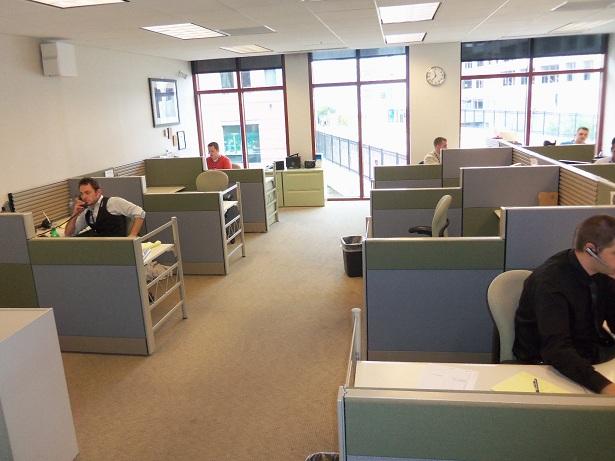 Used Herman Miller Ethospace 6×6 workstations