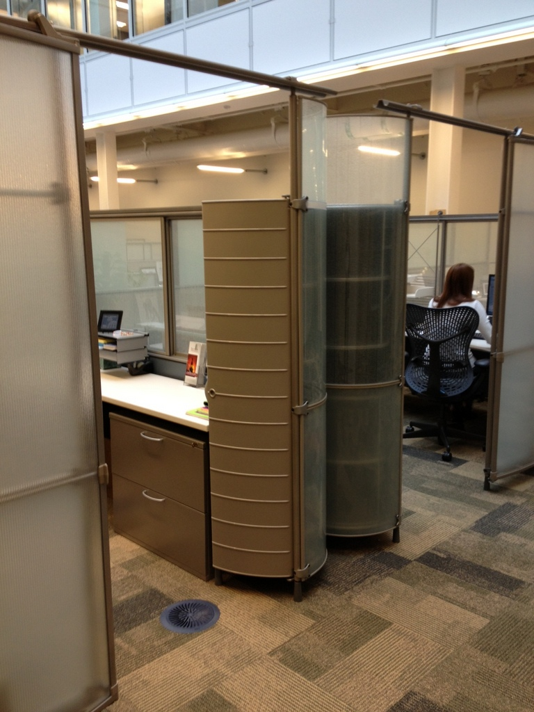Used Herman Miller My Studio Cubicles 8X8 and 8X10