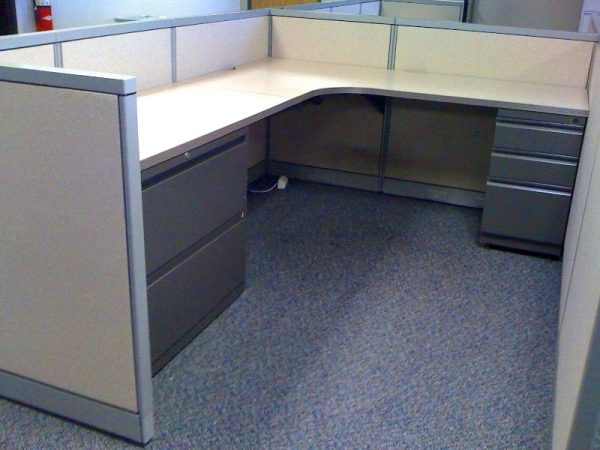 Used Steelcase Avenir 6×8 Cubicles in Dallas