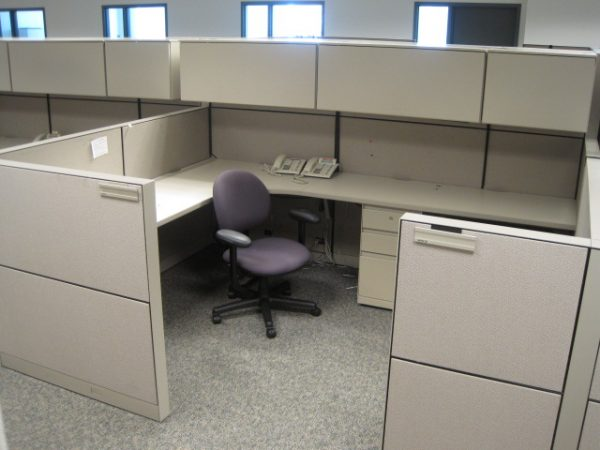 Steelcase Montage 7×9 Used Cubicles