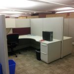 Used Haworth Premise 7×7 workstations