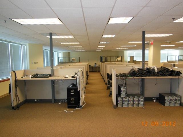 Used Herman Miller AO2 Telemarketing Workstations in Dallas