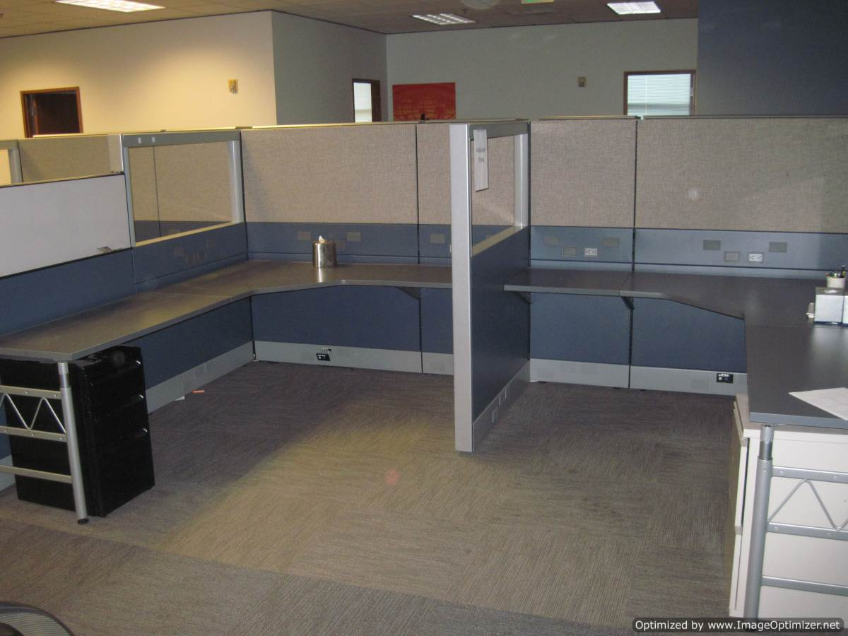 Used Herman Miller Ethospace 6×8 Workstations