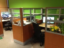 Used Knoll Reff Cubicles, 6×6 and 6×8