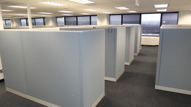 Used Allsteel Concensys 6×6 or 6×8 Cubicles