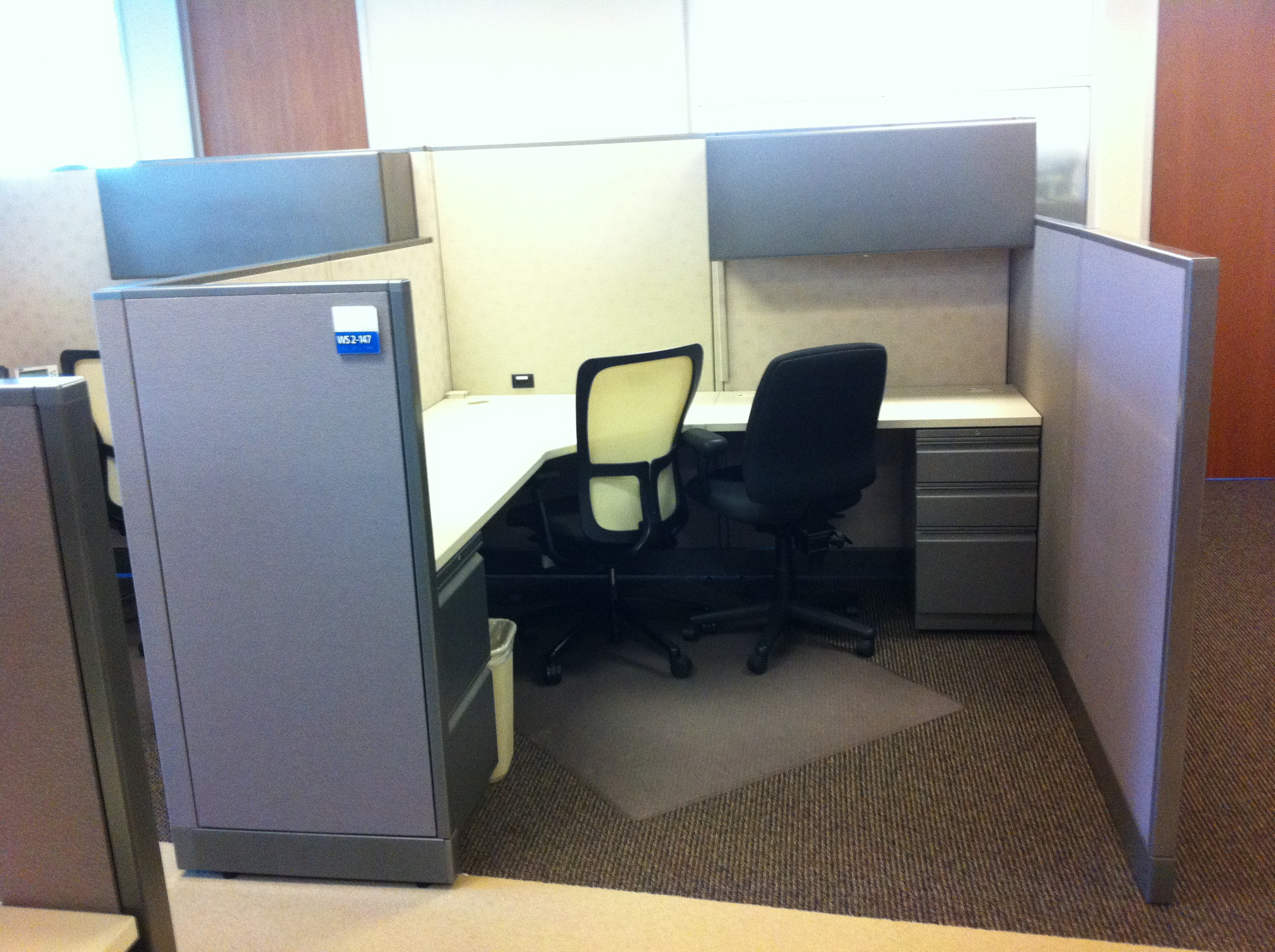 Used Allsteel Concensys 48x48 Cubicles