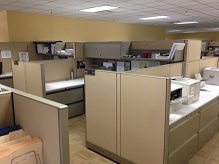 Used Knoll Morrison Cubicles, 8×6 High/Low Stations