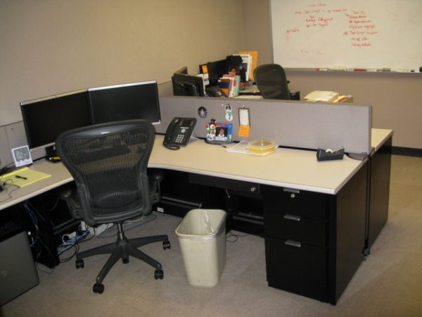 Used Steelcase Context Workstations, 7×7