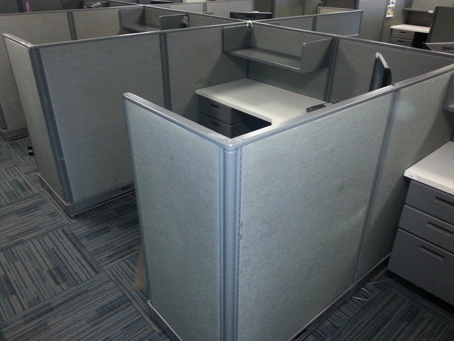 Knoll Equity 6x6 Used Cubicles