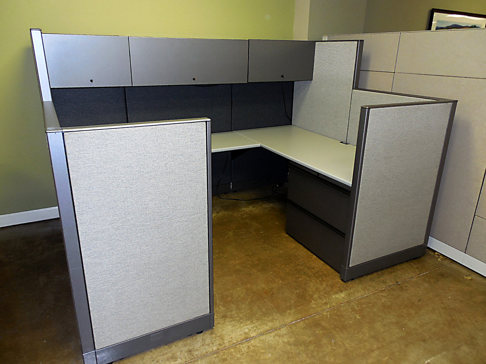 Like New Knoll Morrison Workstations 6x8 Used Cubicles
