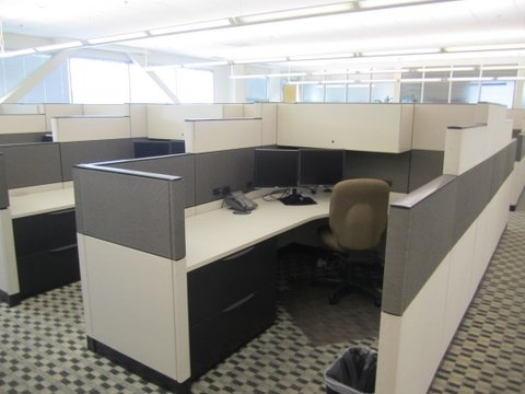 Used Haworth Enhanced Cubicles