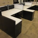 Knoll Current Benching Cubicles