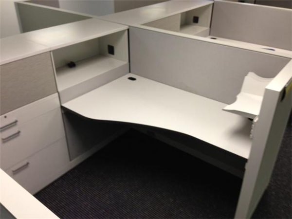 Allsteel Stride Cubicles, Los Angeles CA.