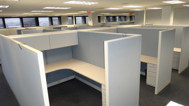 Used Allsteel Concensys 6×8 and 6×6 Cubicles