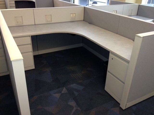 Steelcase Answer 8X8 Cubicles