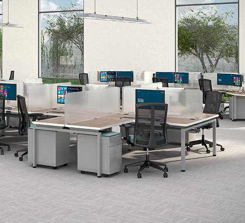 Benching Cubicles Starting at $399 Each