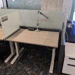 height adjustable steelcase benching cubicles 2