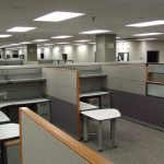 knoll currents cubicles loaded with tall walls 4